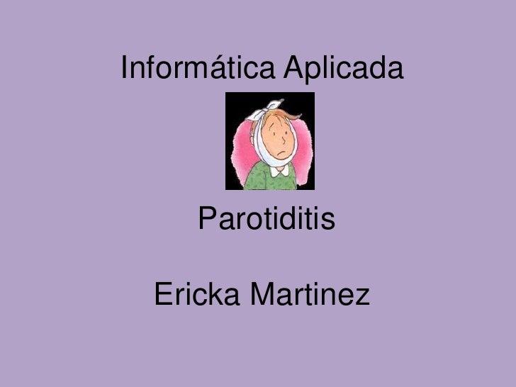 Parotiditis en Colombia