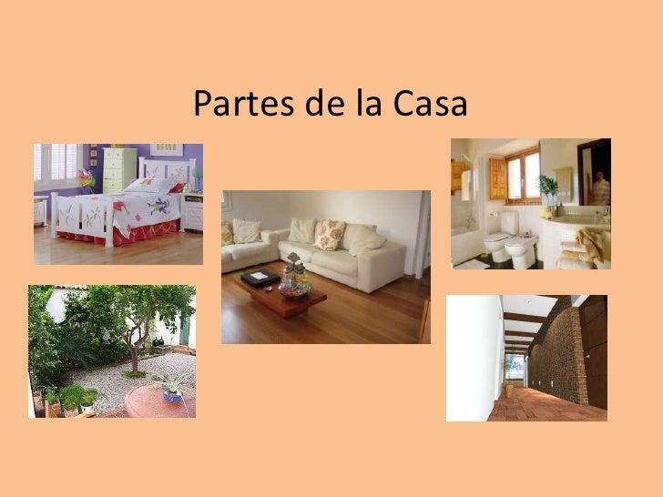 Presentacion partes de la casa - La casa de las perchas ...