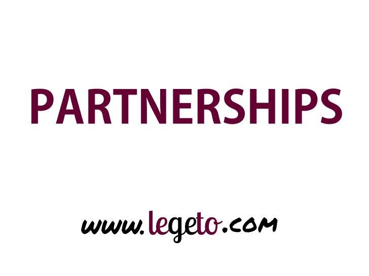 Presentacion partnerships