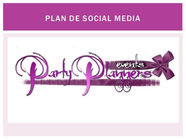 Presentacion party planners
