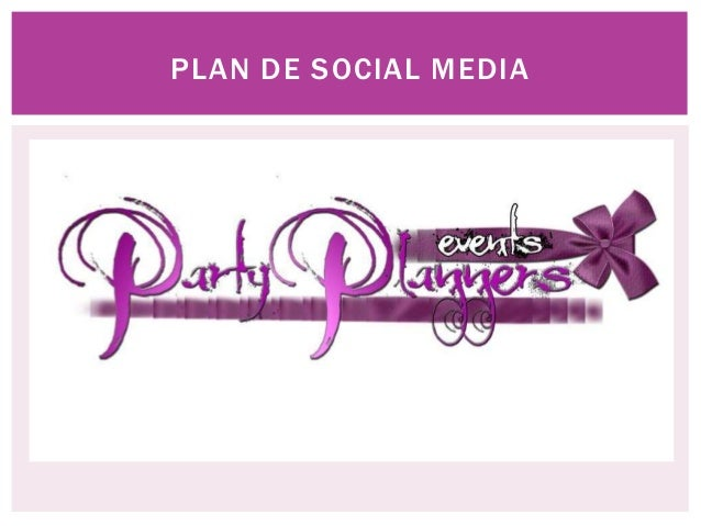 Presentacion party planners