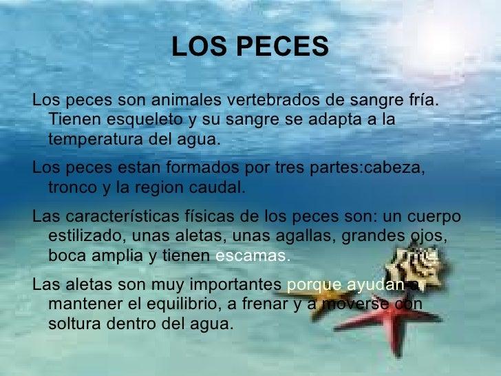 LOS PECES 1º CICLO