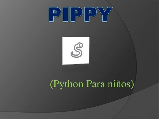 (Python Para niños)