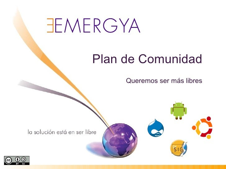 Plan Comunidad 2010