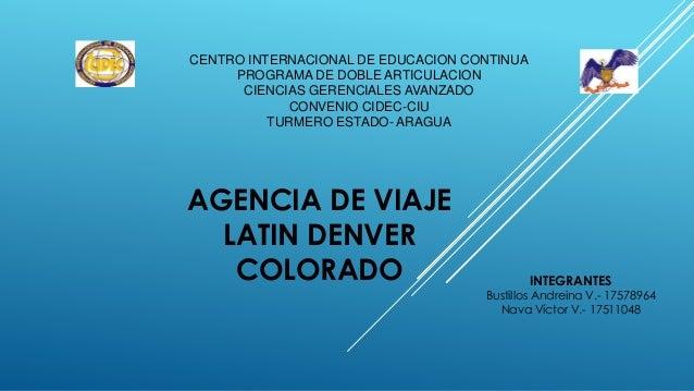 CENTRO INTERNACIONAL DE EDUCACION CONTINUA PROGRAMA DE DOBLE ARTICULACION CIENCIAS GERENCIALES AVANZADO CONVENIO CIDEC-CIU...