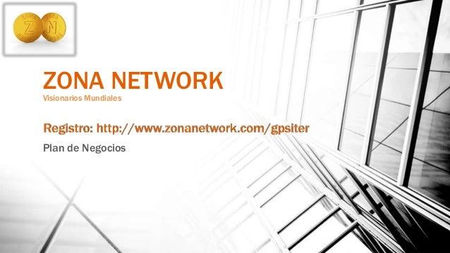 Presentacion del Plan de Negocios Zona Network