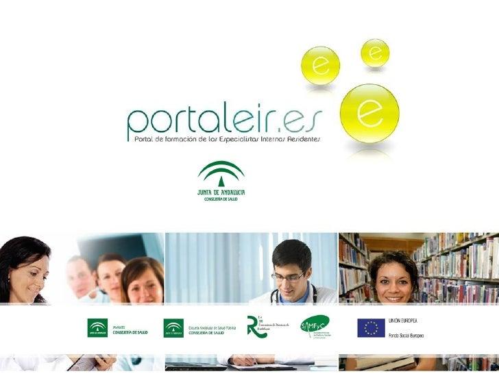 Presentacion Portaleir  para Residentes