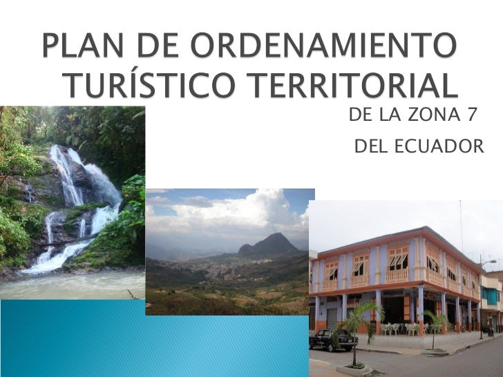 DE LA ZONA 7  DEL ECUADOR