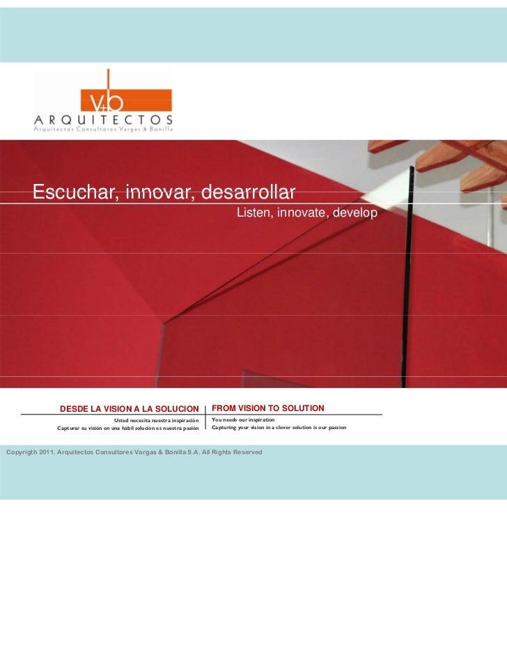 Presentacion (Presentation)2012