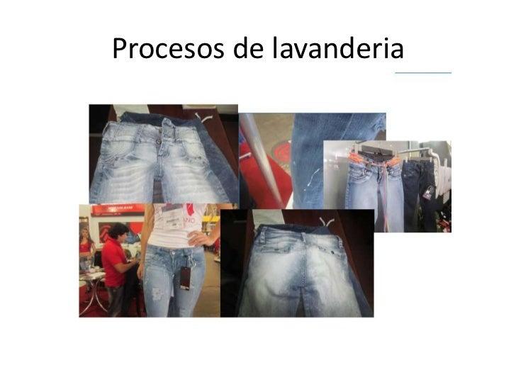 Procesos de Lavanderia