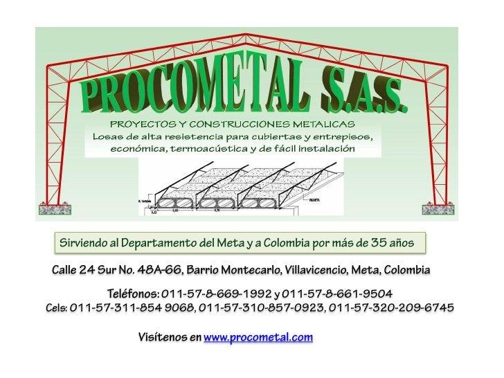Presentacion Procometal SAS