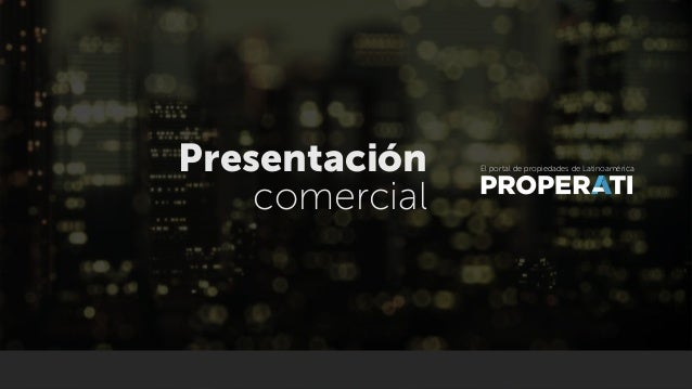 Presentacion Properati