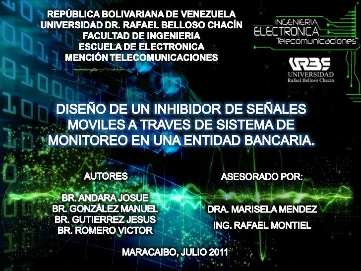 Presentación Proyecto # 24 Premio Eureka 2011 Mención Innovatividad Técnica