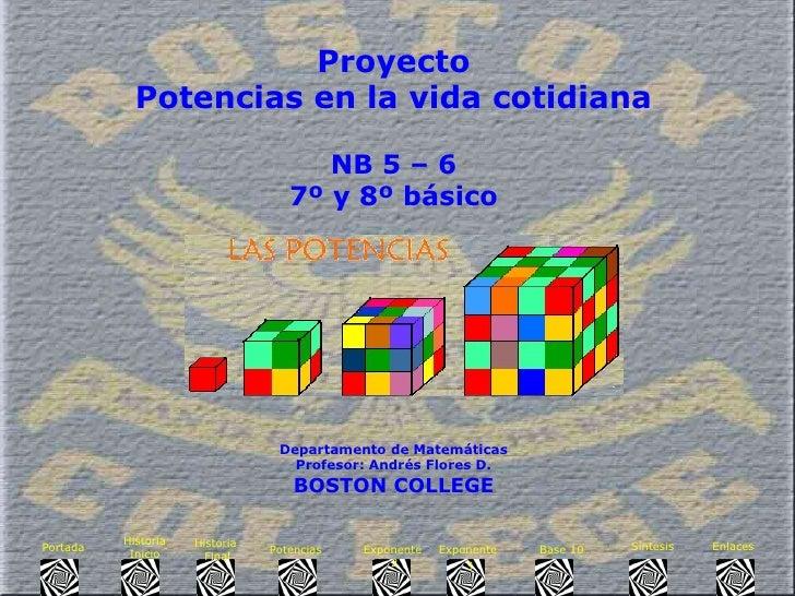 Presentacion  Proyecto1 P Potencias