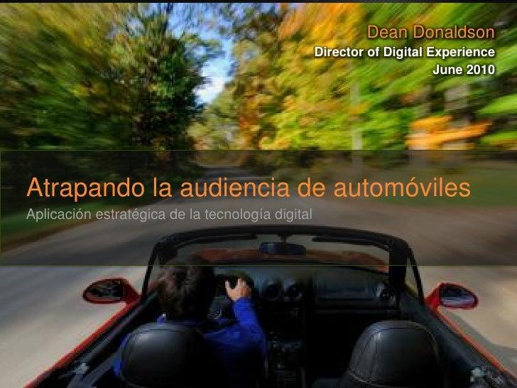 Presentacion Publicidad Digital Automocion Eyeblaster 2010