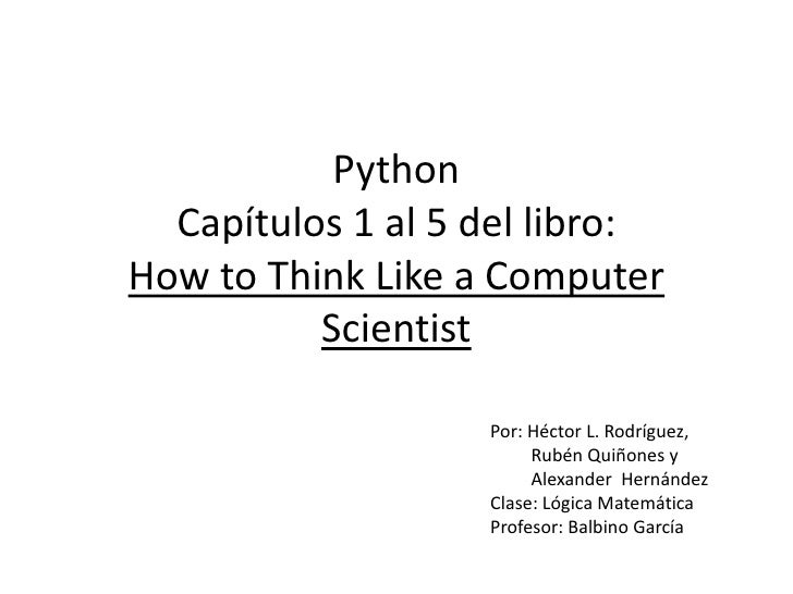 Presentacion python final