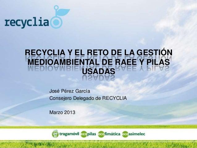 Presentacion recyclia chile_mar13