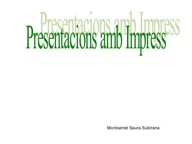 Montserrat Saura Subirana