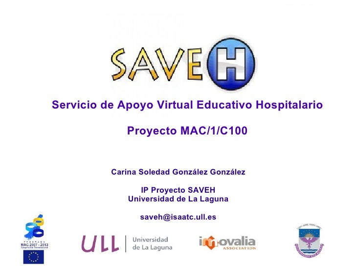 Presentacion Proyecto SAVEH