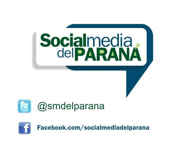 Social Media del Paraná en el V Foro de Sociedades Digitales