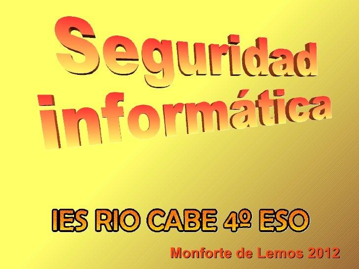 Monforte de Lemos 2012