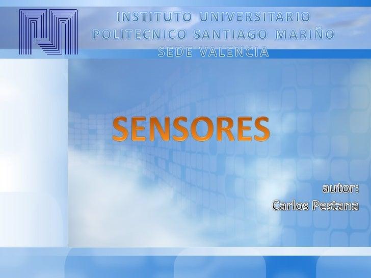 Los sensores inductivos son una claseespecial de sensores que sirven paradetectar      materiales     metálicosferrosos. S...