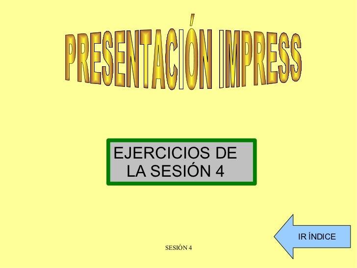 Presentacionsesion4