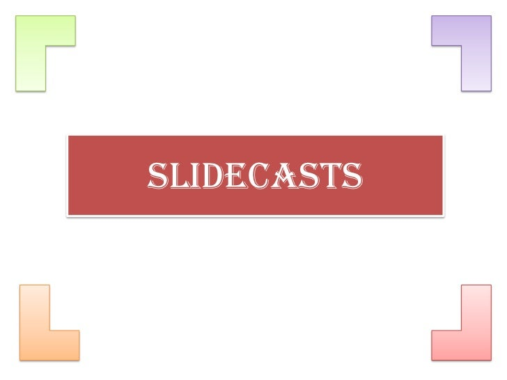 Slidecasts