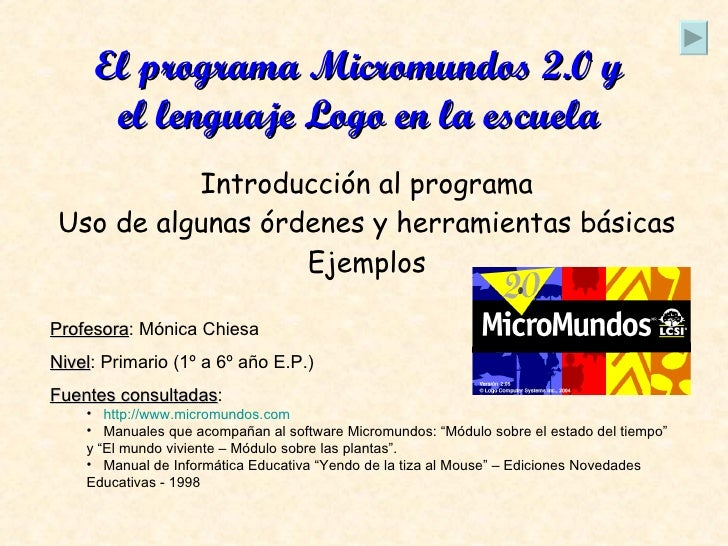 Presentacion sobre micromundos