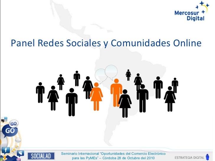 Presentacion social ad mercosur digital cordoba