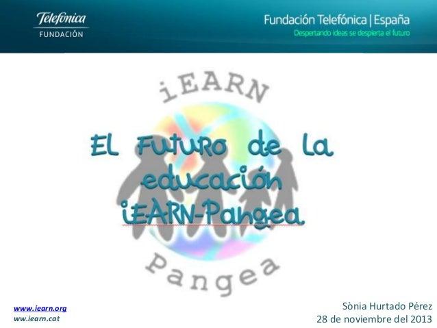 Presentación Clausura Fundación Telefónica iEARN-Pangea
