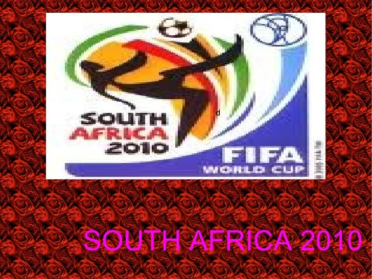 Presentacion south africa worldcup