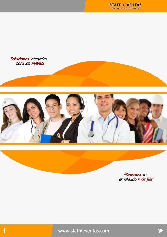 Presentacion staff de ventas ®   profesionales 2013