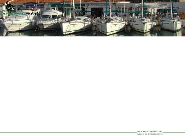 www.surcandomares.comAlquiler de embarcaciones