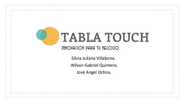 Silvia Juliana Villabona. Wilson Gabriel Quintero. José Angel Ochoa.