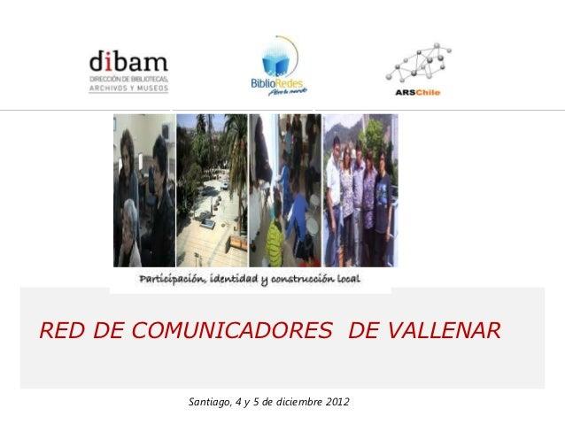 Red de Comunicadores de Vallenar