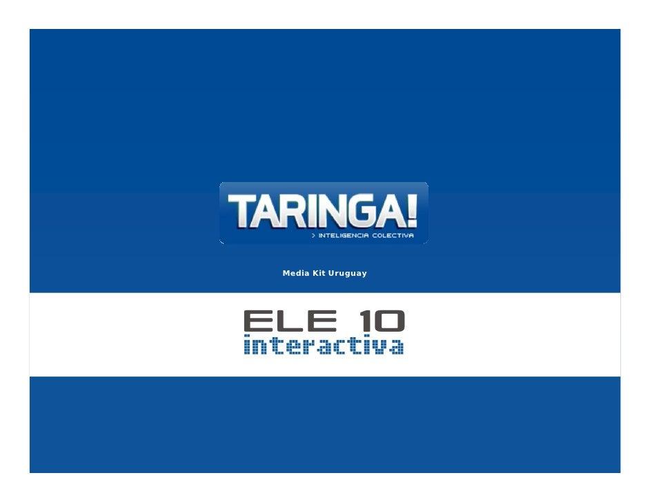 Presentacion Taringa Opciones Publicitarias 2009
