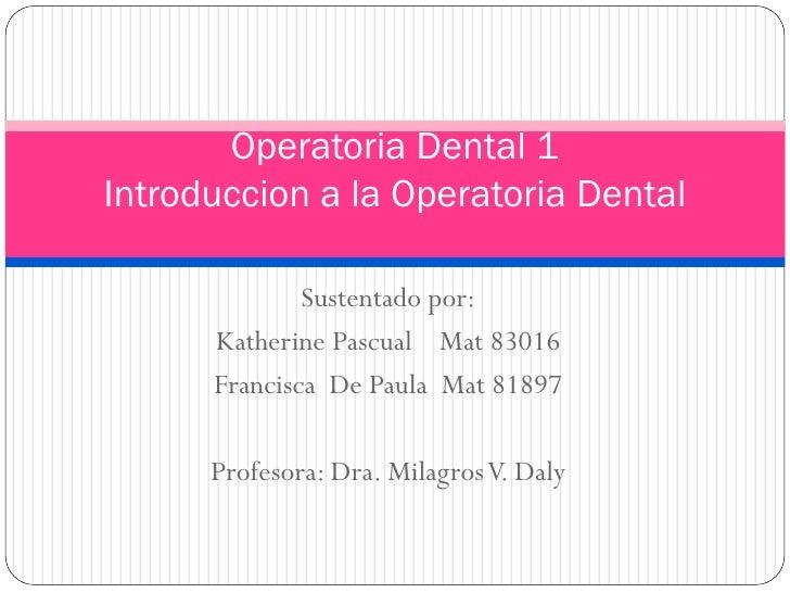 Presentacion Tema I Odo 061  81897 Y 83016