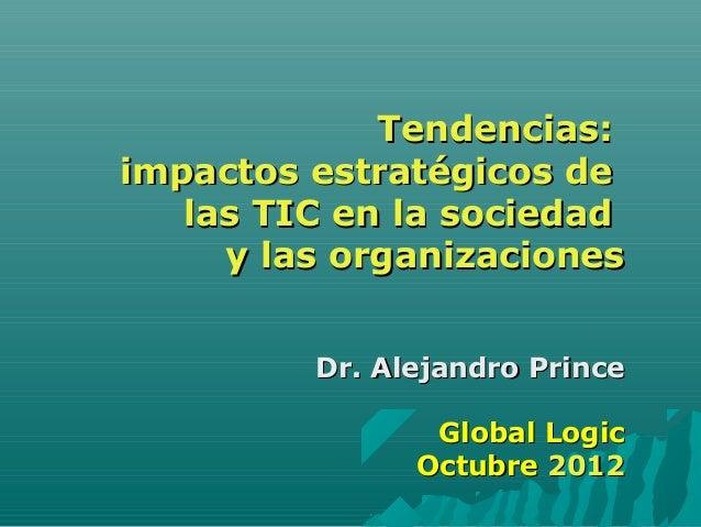 Mercado y Tendencias TIC Argentina oct12