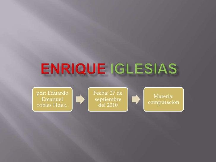EnriqueIglesias<br />