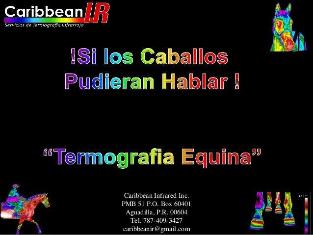 Caribbean Infrared Inc.PMB 51 P.O. Box 60401 Aguadilla, P.R. 00604   Tel. 787-409-3427caribbeanir@gmail.com