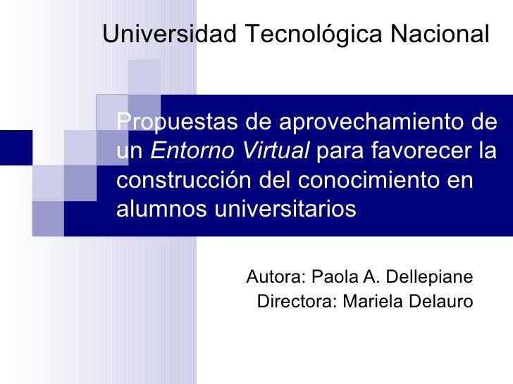 Presentacion Tesina