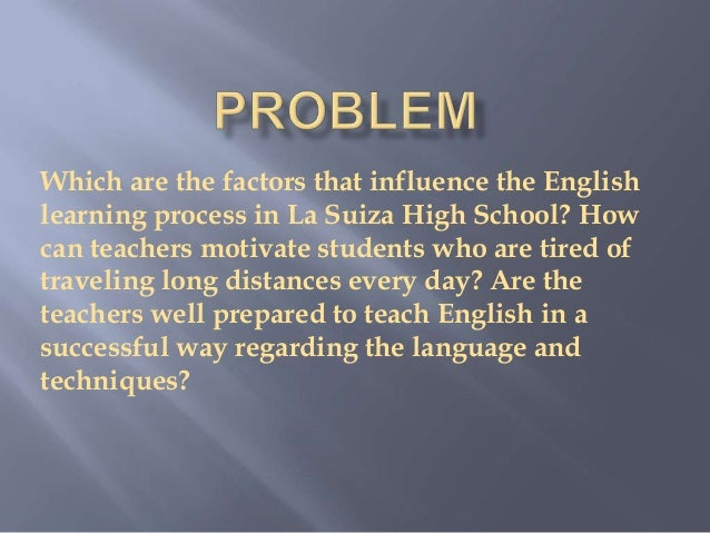 the motivations of students who studied in a school using the english language Motivation of american college students to french is the second most studied language in language are these motivations primarily cultural and.