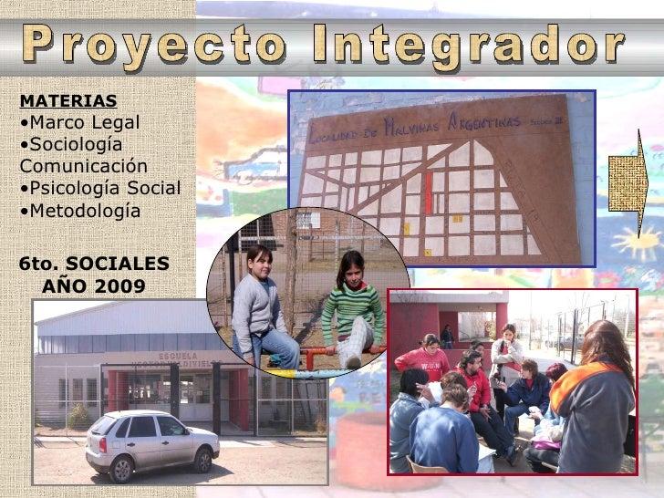 Presentacion Trabajo De Investigacion Final   2009