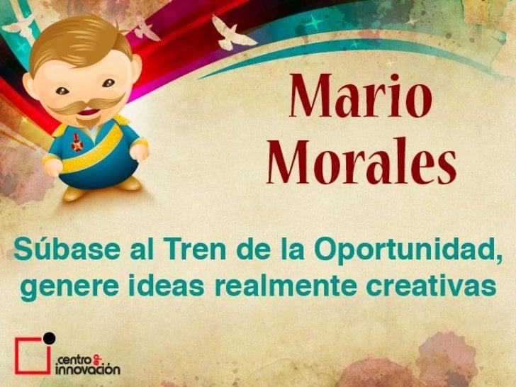 Presentacion Transcyberiano Mario Morales