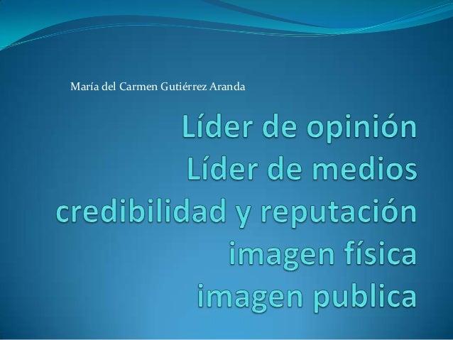María del Carmen Gutiérrez Aranda