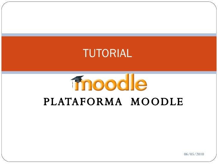 Presentacion tutorialmoodle