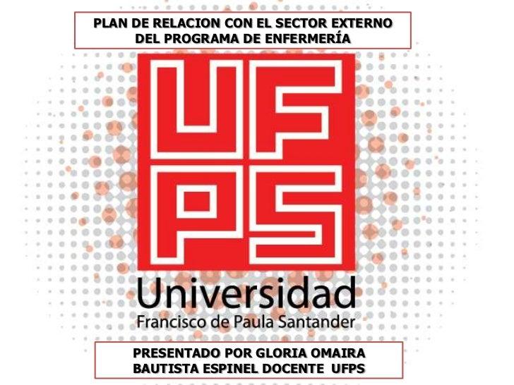 Presentacion UFPS ENFERMERIA exterior
