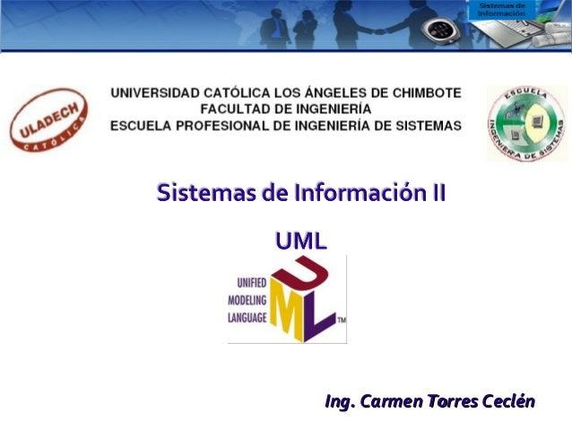 Ing. Carmen Torres CeclénIng. Carmen Torres Ceclén