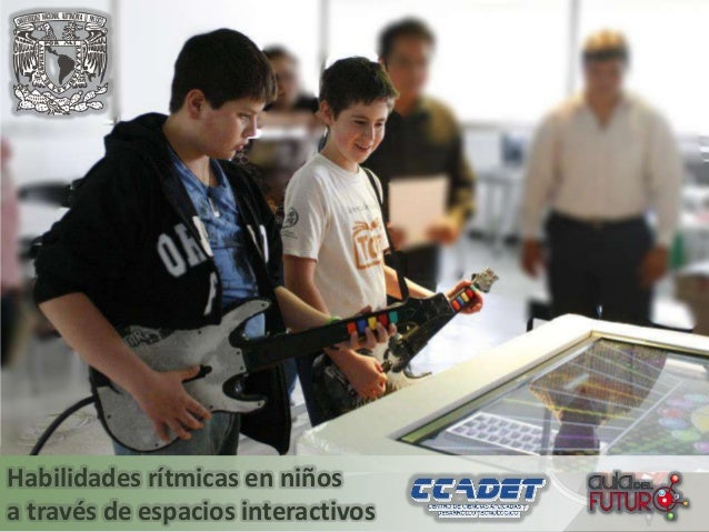 Habilidades rítmicas en niños a través de espacios interactivos